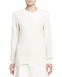 The Row Alden Long Sleeve Knit Top