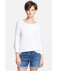 Vince Raglan Suspension Sweater White Small