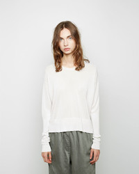 MM6 MAISON MARGIELA Viscose Knit Pullover