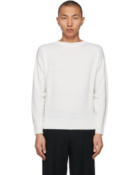Tanaka White Cashmere Linen Sweater