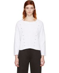 Rag & Bone White Lara Sweater