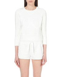 Calvin Klein White Series Cotton Sweatshirt