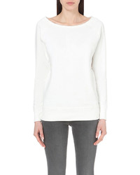 Calvin Klein White Series Oversized Cotton Sweatshirt