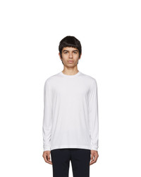 Giorgio Armani White Viscose Sweater