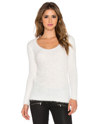 Wilde Heart Loose Ends Fluffy Sweater