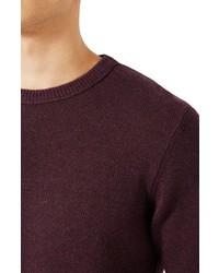 Topman Wool Blend Sweater