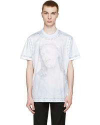 Givenchy Blue Jesus T Shirt