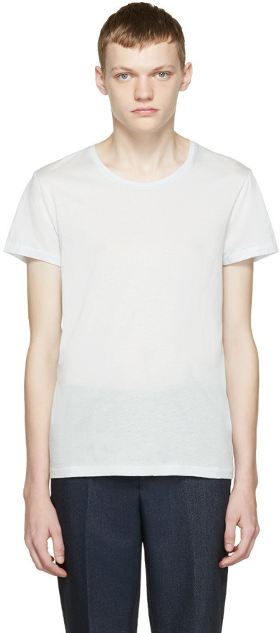 Acne Studios Blue Standard O T Shirt