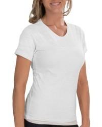 Alternative Apparel Burnout Jersey Knit T Shirt Crew Neck Short Sleeve
