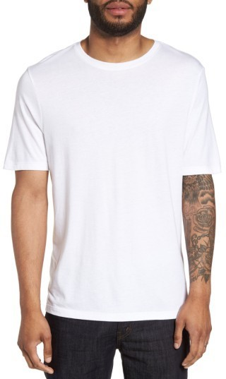 Vince Clean Jersey Crewneck T Shirt