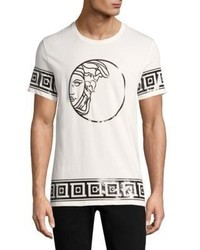 Versace Collection Medusa Foil Cotton T Shirt