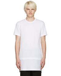 Comme des Garcons Comme Des Garons Shirt White Layered T Shirt