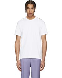 Comme des Garcons Comme Des Garons Shirt White Slit Shoulders T Shirt