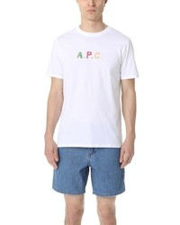 A.P.C. Couleurs Tee