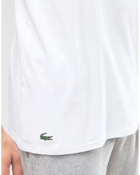3be0485312 Lacoste Crew Neck T Shirt In 2 Pack In White Slim Fit, $43 | Asos ...