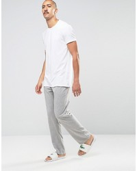 6d489b5dfac05 ... Lacoste Crew Neck T Shirt In 2 Pack In White Slim Fit