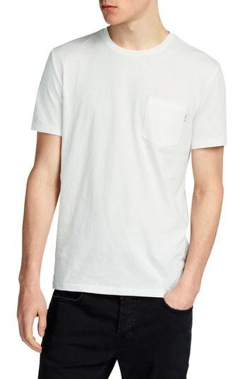 AllSaints Cure Tonic Slim Fit Pocket T Shirt