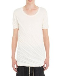 Rick Owens Double Layer Jersey T Shirt White