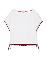 Marni Drawstring Cotton Jersey T Shirt