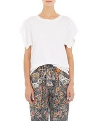Isabel Marant Flyaway Sleeve Felipe T Shirt White
