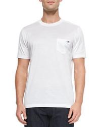 Salvatore Ferragamo Gancini Crewneck T Shirt White