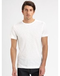 Theory Gaskell Nebulous Cotton Crewneck Tee