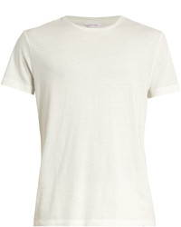 Orlebar Brown Glover Cotton And Linen Blend T Shirt