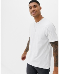 Pull&Bear Join Life T Shirt In White