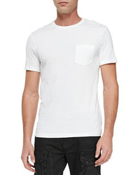 Ralph Lauren Black Label Knit Crewneck Tee Shirt White