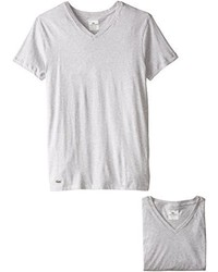 Lacoste 3 Pack Essentials Cotton V Neck T Shirt