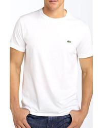 Lacoste Cotton T Shirt White 3xlt