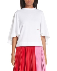 Calvin Klein 205W39nyc Logo Bell Sleeve Tee