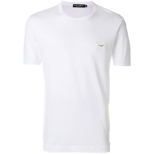 Dolce & Gabbana Logo Plaque T Shirt