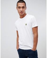 Lyle & Scott Logo T Shirt In White