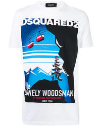 DSQUARED2 Lonely Woodsman T Shirt