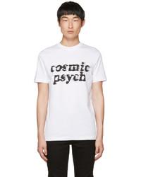 McQ by Alexander McQueen Mcq Alexander Mcqueen White Cosmic Psych T Shirt
