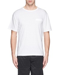 Nobrand Mock Pocket T Shirt