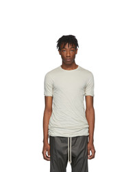 Rick Owens Off White Basic T Shirt