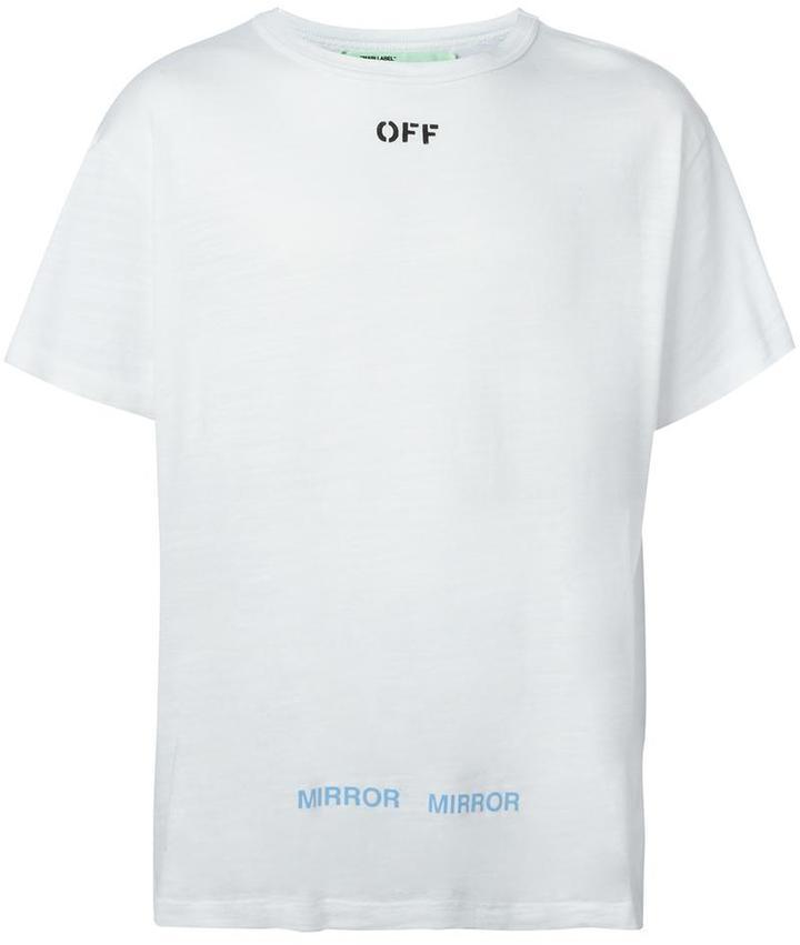 a08f01c4 Off-White Crew Neck T Shirt, $255 | farfetch.com | Lookastic.com