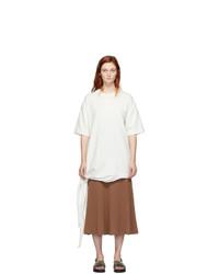 Joseph Off White Side Tie T Shirt