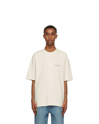 Balenciaga Off White Vintage T Shirt