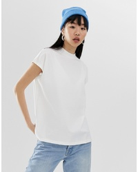 Weekday Prime T Shirt In White