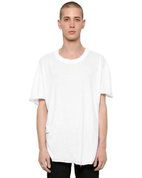 RtA Raw Cut Light Jersey Cashmere T Shirt
