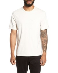 Vince Regular Fit Gart Dye Pocket T Shirt