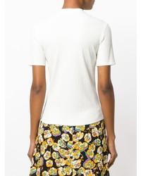Nomia Ribbed High Neck T Shirt