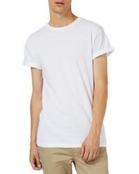 Topman Roller Sleeve T Shirt