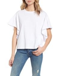 Stateside Ruffle Sleeve Sweatshirt