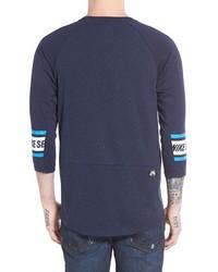 Nike Sb Nepped Three Quarter Sleeve Dri Fit T Shirt