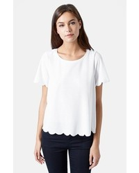 Scallop frill tee medium 298809