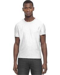 Kenneth Cole Reaction Shirt Short Sleeve Slub Crew Neck T Shirt